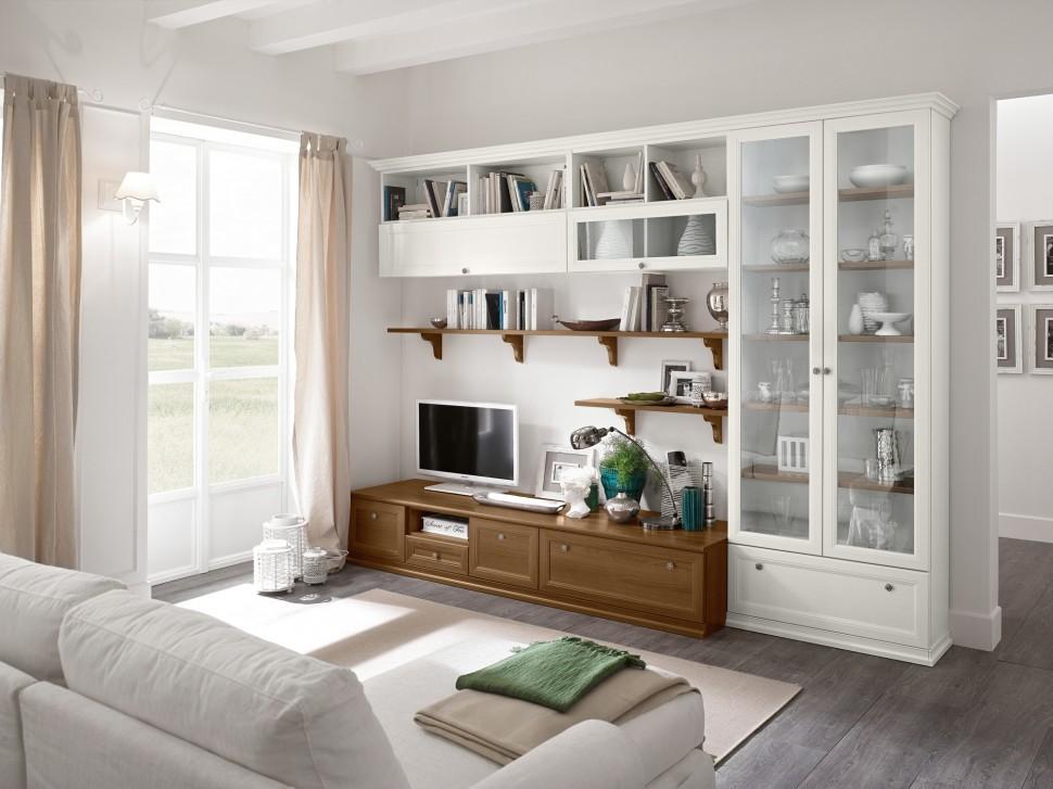 Zona giorno mobili masella for Arredamento classico soggiorno